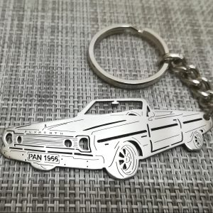 Keychain Plymouth Belvedere 1966 gift for friend